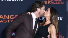 Gerard Butler and Girlfriend Morgan Show Some PDA at the Red Carpet Premiere of His New Movie