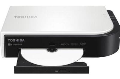Toshiba intros DVD burner for Gigashot HD video cameras