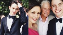 Michael Douglas and Catherine Zeta-Jones' Son Looks Just Like His Famous Parents in Prom Pictures