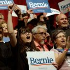 Buoyed by Latino voters in Nevada, Sanders cements his frontrunner status