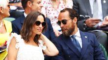 Pregnant Pippa Middleton nails Wimbledon-chic in white dress