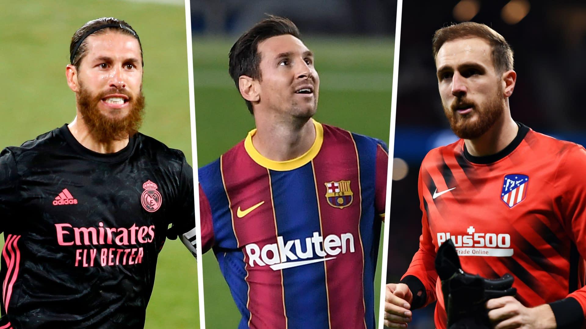Fifa 21 Ratings Messi Ramos Oblak The Best La Liga Players