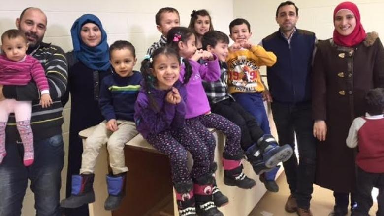 'Just cry': Syrian families reunited in Winnipeg celebrate ...