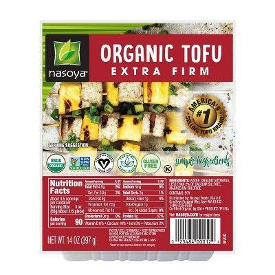 "<p><strong>Nasoya</strong></p><p>target.com</p><p><strong>$2.89</strong></p><p><a href=""https://www.target.com/p/nasoya-organic-extra-firm-tofu-14-oz/-/A-14915938"" rel=""nofollow noopener"" target=""_blank"" data-ylk=""slk:Shop Now"" class=""link rapid-noclick-resp"">Shop Now</a></p><p>Perhaps one of the most common meat substitutes, <a href=""https://www.goodhousekeeping.com/health/diet-nutrition/a20707020/is-soy-good-or-bad-for-you/"" rel=""nofollow noopener"" target=""_blank"" data-ylk=""slk:tofu is a product made from curdled soybeans"" class=""link rapid-noclick-resp"">tofu is a product made from curdled soybeans</a> and it is available in extra-firm, firm, and soft. It has a neutral flavor, so it can be paired with endless sauces, grains, and veggies, <a href=""https://www.goodhousekeeping.com/food-recipes/healthy/a18093/easy-tofu-cooking-tips-47012001/"" rel=""nofollow noopener"" target=""_blank"" data-ylk=""slk:and it can be baked, grilled, or fried"" class=""link rapid-noclick-resp"">and it can be baked, grilled, or fried</a>. Whether you're craving some <a href=""https://www.goodhousekeeping.com/food-recipes/healthy/g2319/vegetarian-tofu-recipes/?slide=2"" rel=""nofollow noopener"" target=""_blank"" data-ylk=""slk:pad Thai"" class=""link rapid-noclick-resp"">pad Thai</a> or tacos, it's easy to make tofu the star of your dish. Because of its high water content, it's common practice to ""press"" tofu before cooking it. This removes a lot of moisture and makes for extra crispy tofu.</p><p><strong>RELATED: </strong><a href=""https://www.goodhousekeeping.com/food-recipes/healthy/g2319/vegetarian-tofu-recipes/"" rel=""nofollow noopener"" target=""_blank"" data-ylk=""slk:38 Easy Tofu Recipes That Meat Lovers Can Get Behind"" class=""link rapid-noclick-resp"">38 Easy Tofu Recipes That Meat Lovers Can Get Behind</a> </p>"