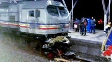 Trains crash in Tanjung Malim; ETS and KTM Komuter services disrupted