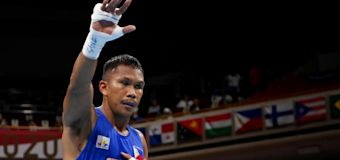 Olympics: Marcial assured of boxing medal after KO win