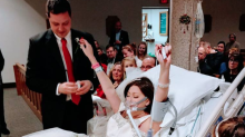 Krebskranke Braut stirbt 18 Stunden nach Hochzeit