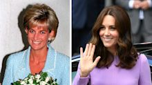 The jewelry of Princess Diana that Kate Middleton loves to wear