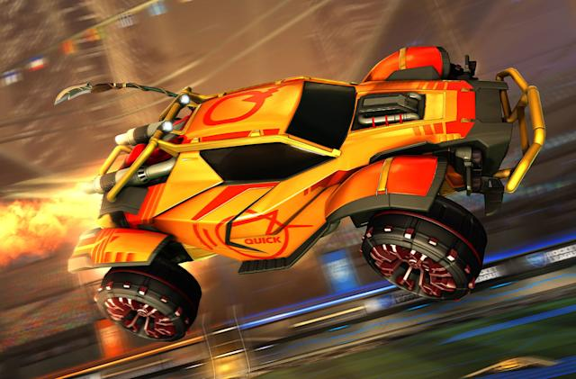 Epic Games offers $10 vouchers for redeeming 'Rocket League'