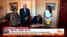 Royal protocol dictates royal tour meetings