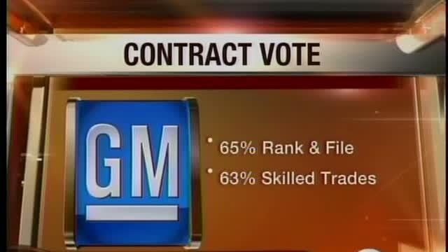 GM workers approve deal