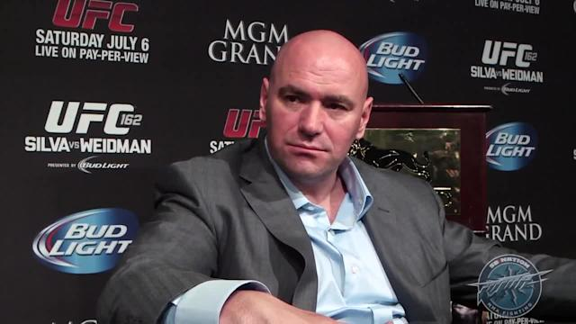 Dana White UFC 162 post-fight scrum video