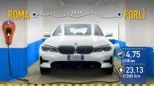 BMW 330e híbrido enchufable, prueba de consumo real