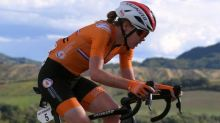Anna van der Breggen is first cyclist to sweep road world titles in 25 years