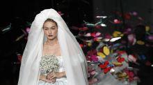 Mailand Fashion Week: Im Brautkleid stiehlt Gigi Hadid allen die Show