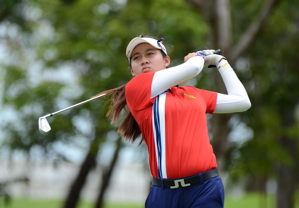 Thai teen golfer breaks record for youngest professional win