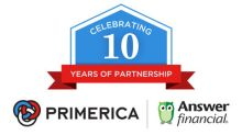Primerica and Answer Financial celebrate 10 years of helping clients with their auto and home insurance needs