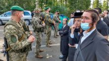 Ukraine and Belarus argue over Hasidic Jewish pilgrims stranded at border