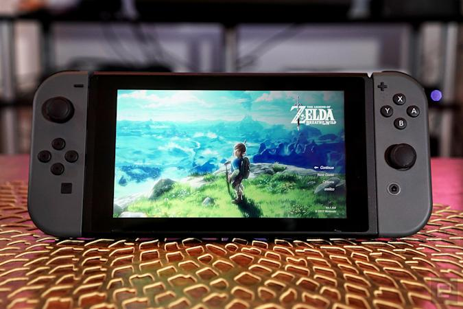 Nintendo OLED Switch with NVIDIA DLSS
