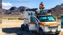 Man travels the world in a revamped ambulance