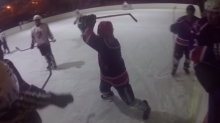 Vicious stick attack caught on ref's own GoPro camera (Video)