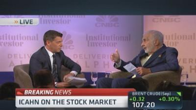 Icahn: Wall St. got us into this mess