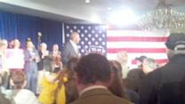 Herman Cain Rally In Nashua