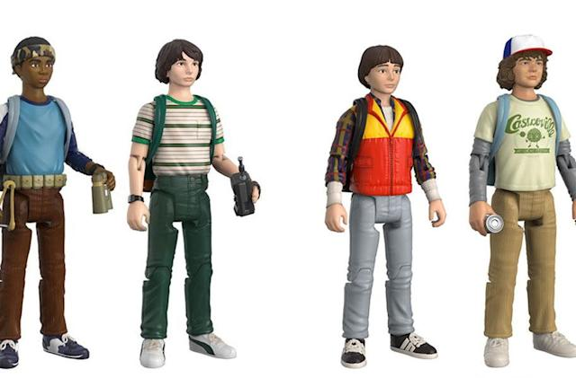 'Stranger Things' action figures cash in on '80s nostalgia