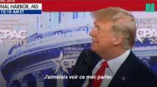 Donald Trump plaisante publiquement sur sa calvitie (Vidéo)
