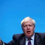 Asked about police visit, UK PM hopeful Johnson says people not interested
