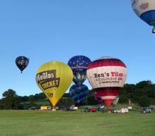Dozens of hot air balloons drift over Bristol in secret socially distant festival