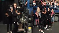 Kendall Jenner & Cara Delevigne DANCE at One Direction Concert