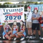 'Unfair': NC Rep. Richard Hudson defends cheerleaders punished for 'Trump 2020' sign at football game