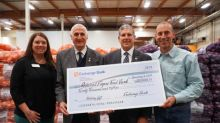 Exchange Bank Donates $20,000 to the Redwood Empire Food Bank in Honor of its Customers and Business Partners