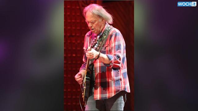 Neil Young Twitter Account Hacked