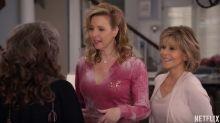 "Vierte Staffel zu ""Grace and Frankie"": Lisa Kudrow als Phoebe 2.0"