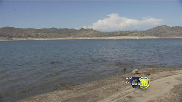 Statewide drought is drying up Millerton Lake