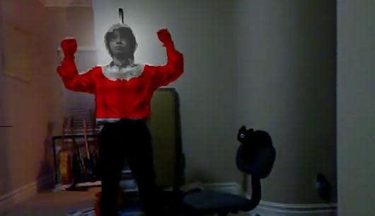 Kinect hack turns you into a superhero