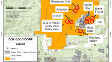 GGX Gold Corp - Diamond Drilling Update Gold Drop Property Greenwood BC