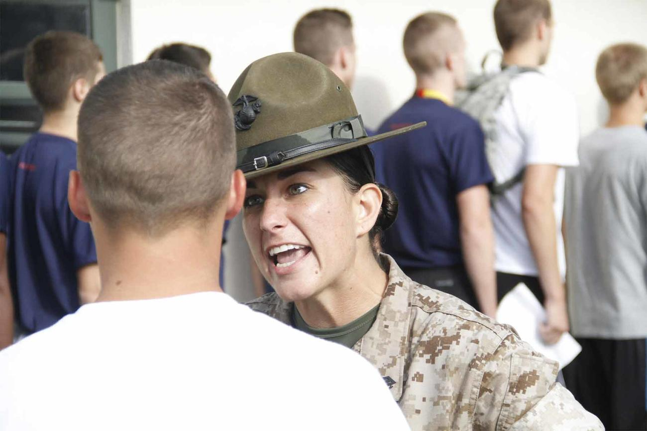 Female Marine Drill Instructors Are Headed to All-Male San Diego Boot Camp