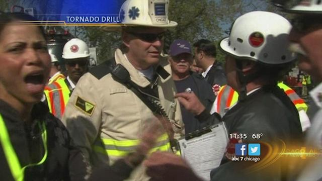 Tornado in Chicago? Drill practices for possible disaster