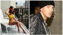 Eminem's daughter is heating up Instagram