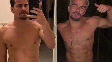 """Thiago Martins perde 12 kg: """"Tomei vergonha na cara"""""""