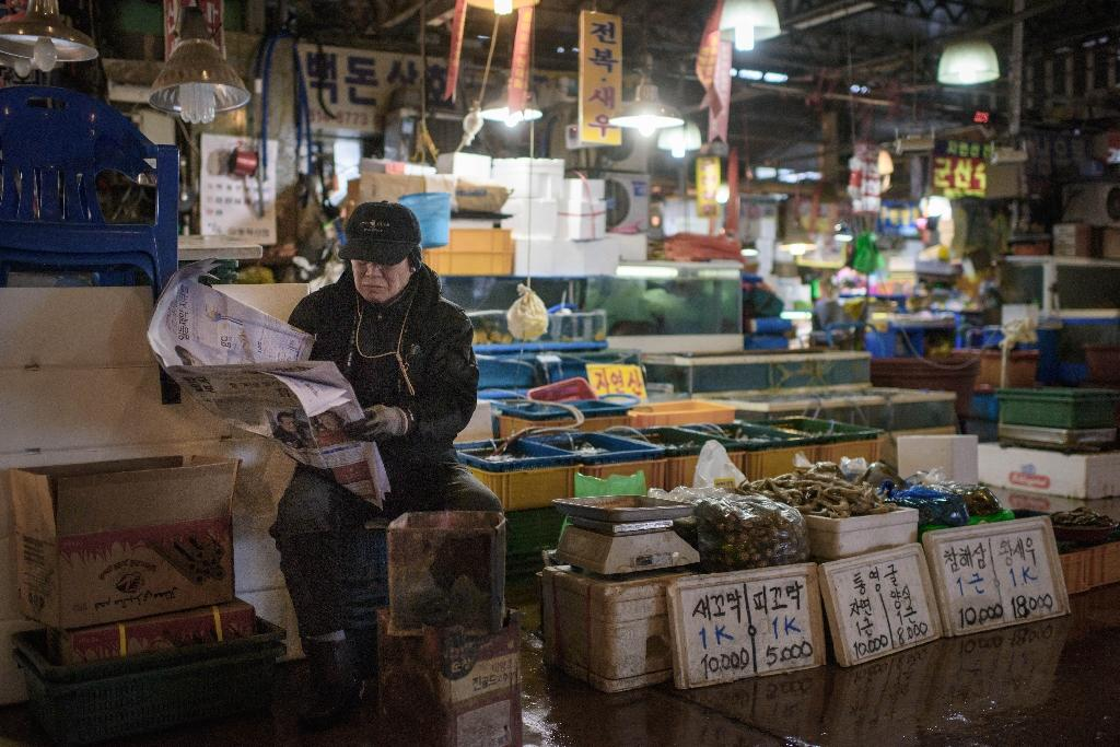 South Korea's consumer prices rose only 0.9% from a year earlier during the first half of this year