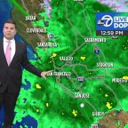 Accuweather Forecast: Rain soaking Bay Area ahead of bigger storm tomorrow