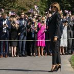 Melania Trump nixes campaign trip due to cough from COVID