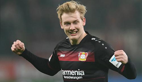 Bundesliga: Medien: Leverkusen will mit Brandt verlängern