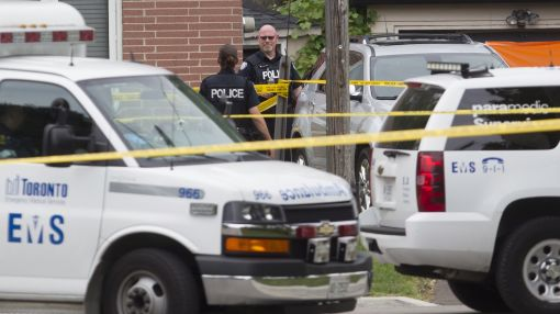 Police: 3 dead, 1 hurt in Toronto, crossbow found nearby