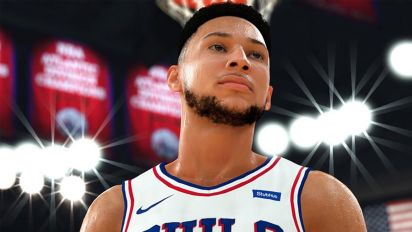 Ben Simmons' 2K rating is revealed