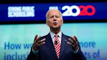 Democratic Presidential Candidates Vie For The Teachers' Vote